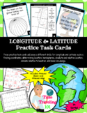 Longitude and Latitude Task Cards