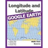 Longitude and Latitude with Google Earth