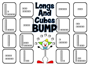 Longs and Cubes Bump - A 2-Player Game