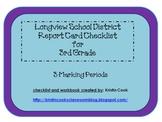 Longview School District Report Card Checklist – 3rd Grade