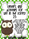 Lony /u/ Centers goes with Life in the Forest Reading Street 2.5