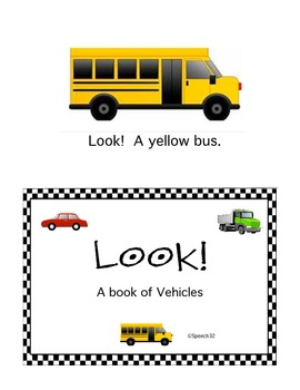 Look!  A book of Vehicles
