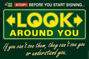 Look Around You. ASL