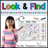 Look & Find Hidden Picture Puzzles
