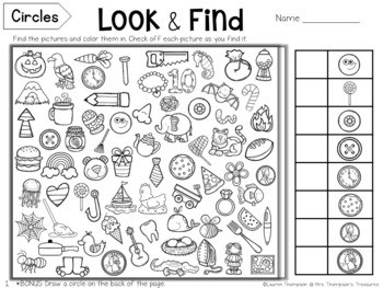 Look & Find Hidden Picture Puzzles - Shapes
