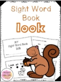 Look - Forest Animal Sight Word Book