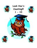 Look Hoo's Counting 1 - 10