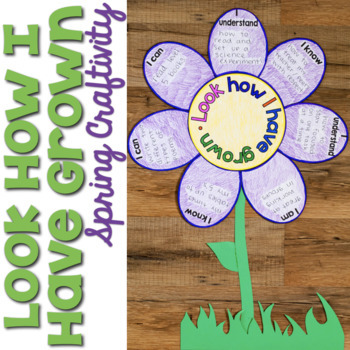 Look How I Have Grown {Spring Craftivity}