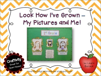 Look How I've Grown - My Pictures and Me! {Craftivity}