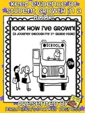 Look How I've Grown (a portfolio of my pre k, kindergarten or 1st grade year!)