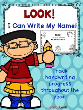 Look! I Can Write My Name!