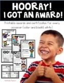 Look!--I Got an Award--Printable Certificates & Awards for