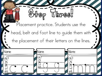 I can write! Letter recognition and formation practice