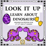Look It Up - Learn About Dinosaurs (Research Activities)