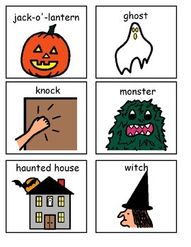 Look! It's Halloween-Interactive Book with Manipulatives