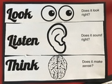 Look, Listen, Think - Reading Cross Checking