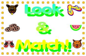 Look & Match Book