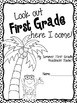 Look Out First Grade, Here I Come- Packet for the Summer before First Grade