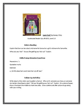 Look Out!  for Guided Reading