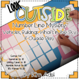 Look Outside Number Line Mystery by Kim Adsit