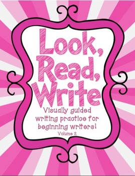 Look, Read, Write: Visually Guided Sentence Writing Volume 2