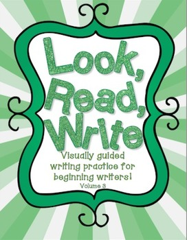 Look, Read, Write: Visually Guided Sentence Writing Volume 3