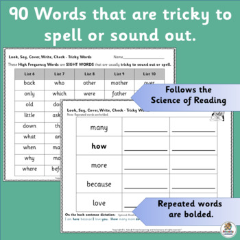 Read & Spell: Look Say Cover Write Check! (SASSOON)   Phonics is Jolly Fun!