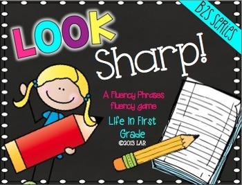Look Sharp! A Fry Phrase Fluency Activity