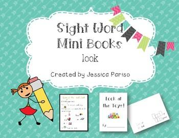 Look Sight Word Mini Book