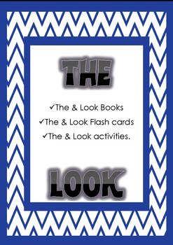 Look & The High frequency common words activities & Flashcards with books.