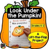 HALLOWEEN WRITING ACTIVITIES Two Fun Lift-the-Flap Reading & Writing Projects
