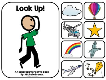 Look Up In The Sky- Adapted Interactive Book With Real Pictures (SPED, Autism)