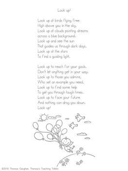 Growth Mindset Poems