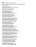 Look Up - Spoken Word Poem Analysis