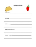 Look What Came From Mexico by Miles Harvey Comprehension Packet