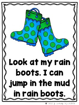Look What I Can Do In My Shoes  (An Emergent Reader and Teacher Lap Book)