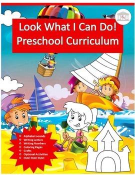 Look What I Can Do! Preschool Curriculum