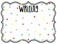 Look What We are Learning!-Objective Posters (Colorful Polka-Dots)