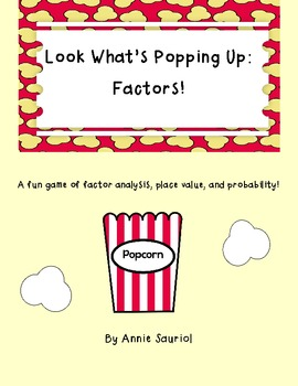 Look What's Popping: Factors