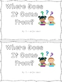 Look Where Sight Word Books for Classroom Library