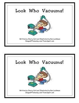 Look Who Vacuums! Guided Reader (-ook family)