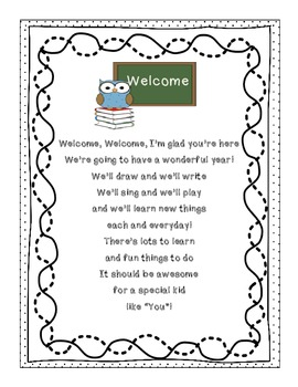 "Look Whooo's In Preschool  {Back to School Owl Theme ""All About Me"" Memory Book}"