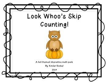 Look Whoo's Skip Counting