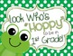 Door Decor: Frog Themed, Look Who's Hoppy to Be in School