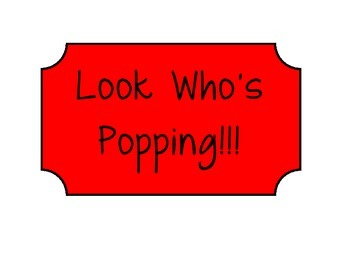 Look Who's Popping - Bulletin Board