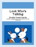 Look Who's Talking! Double Vowel Card Game
