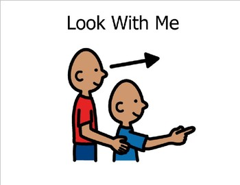 Look With Me (Sight Word Story Book to support Reading Street K)