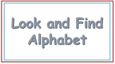 Look and Find Alphabet Game Sample