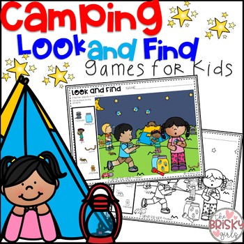 Look and Find (Camping Theme) (Summer Activities)