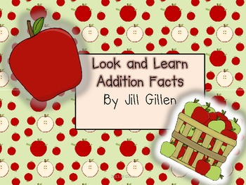 Look and Learn Addition - Apples